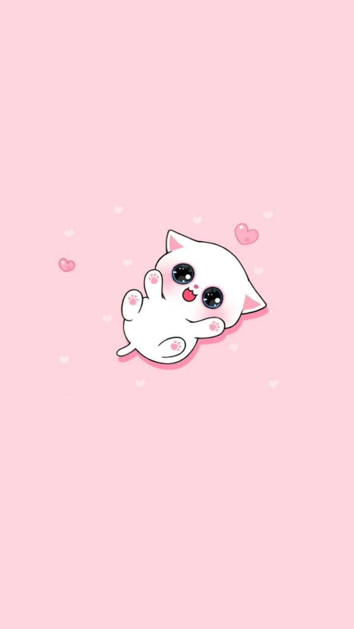 animals, art, baby, background, beautiful, beauty, cartoon, cat, color, colorful, cute animals, design, drawing, fashion, fashionable, heart, hearts, illustration, inspiration, kawaii, kitten, kitty, luxury, pink, pretty, wallpaper, wallpapers, we heart