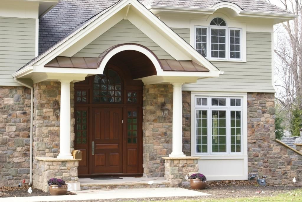 Exterior window trim designs pvc exterior trim arch for Arched bay windows