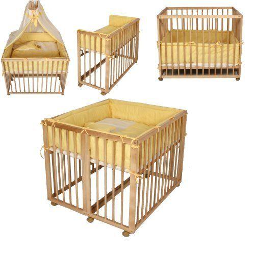 Beistellbett Zwillingsbett Laufgitter Gelb 2in1 Amazon De Baby Zwillingsbett Beistellbett Laufgitter