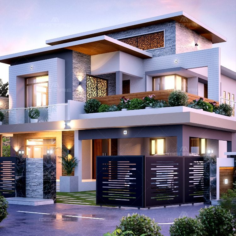 Best Impressive Exterior Design Style Architecture House Exterior Design Dream House Exterior