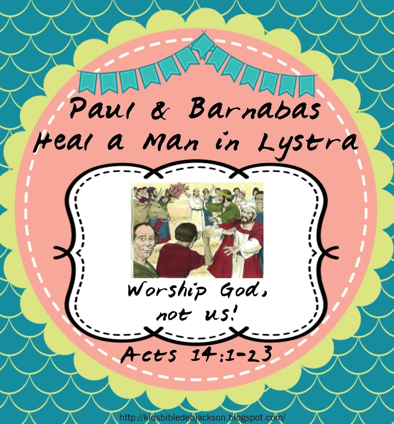 Paul Heals Man In Lystra