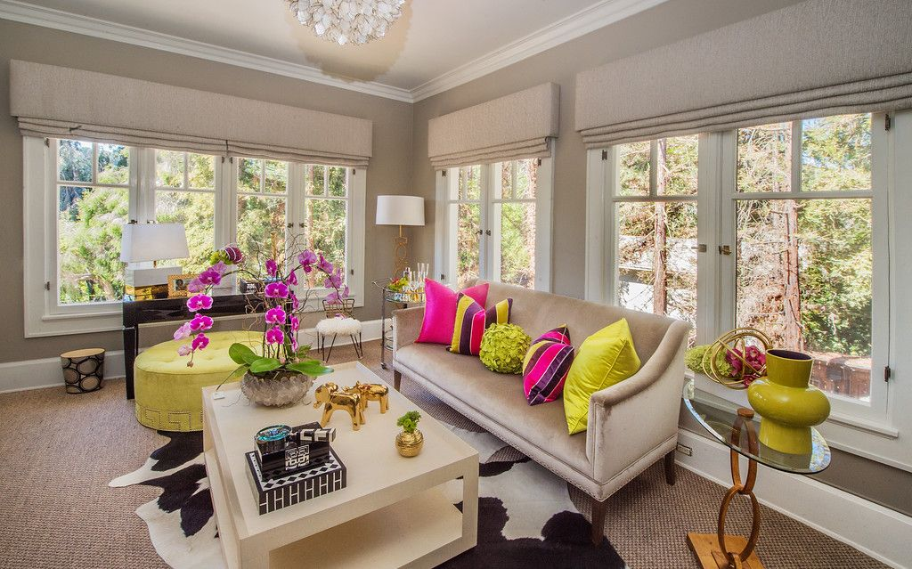 Sitting room designed by Cathy Arkley, Interior Design located in ...