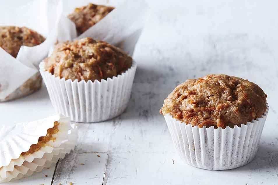 Gingercarrot muffins recipe carrot muffins popover