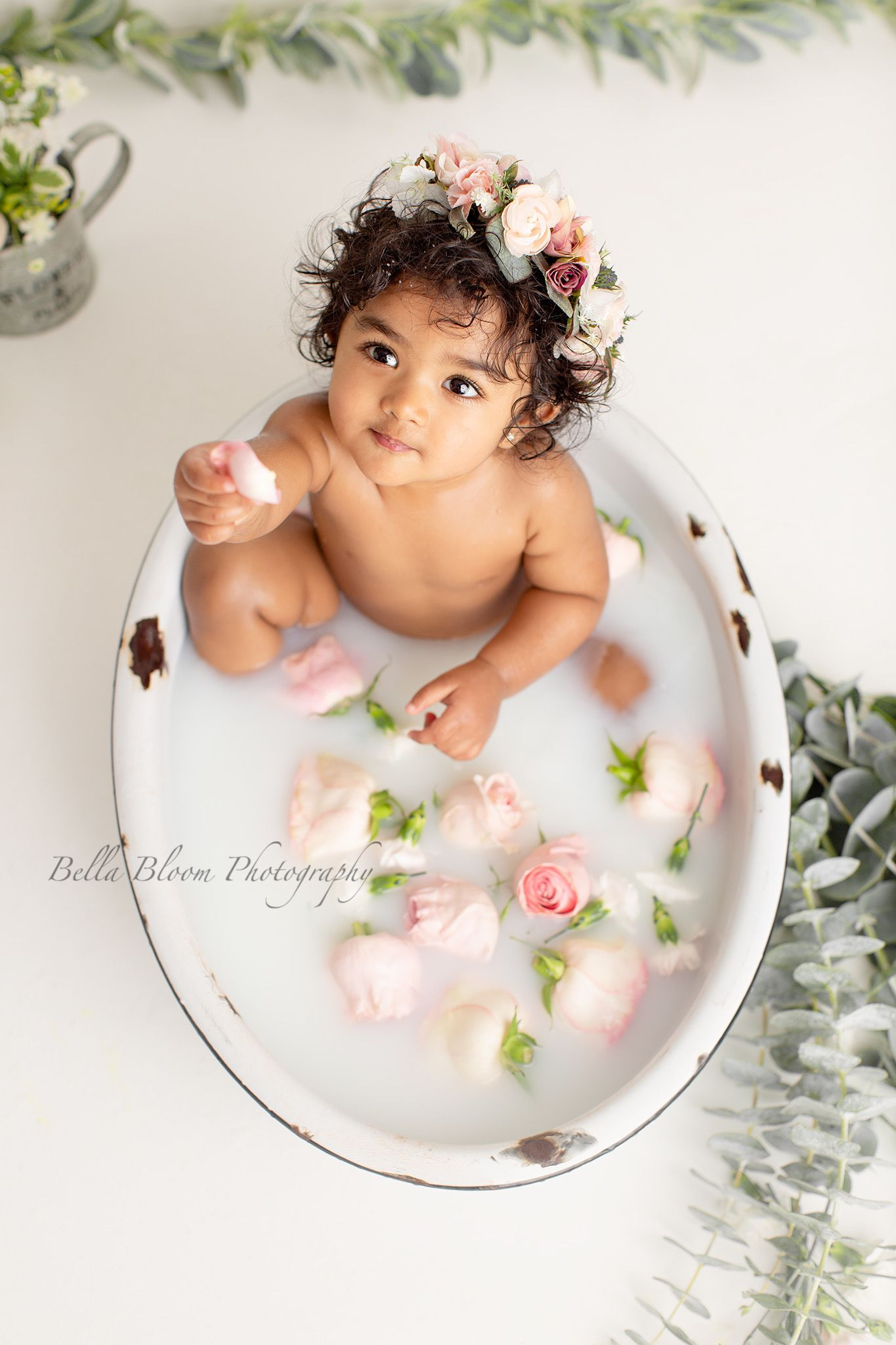 Floral Milk Bath  #fallmilkbath