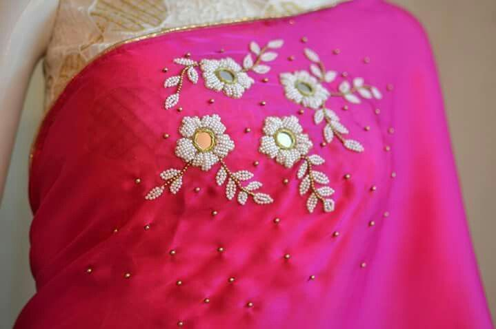 Pin By Lilysha Rani On Heavy Maggam Work Blouses Pinterest