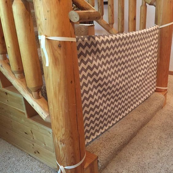 Make A Cloth Baby Gate Parenting Pinterest Baby Gates Baby