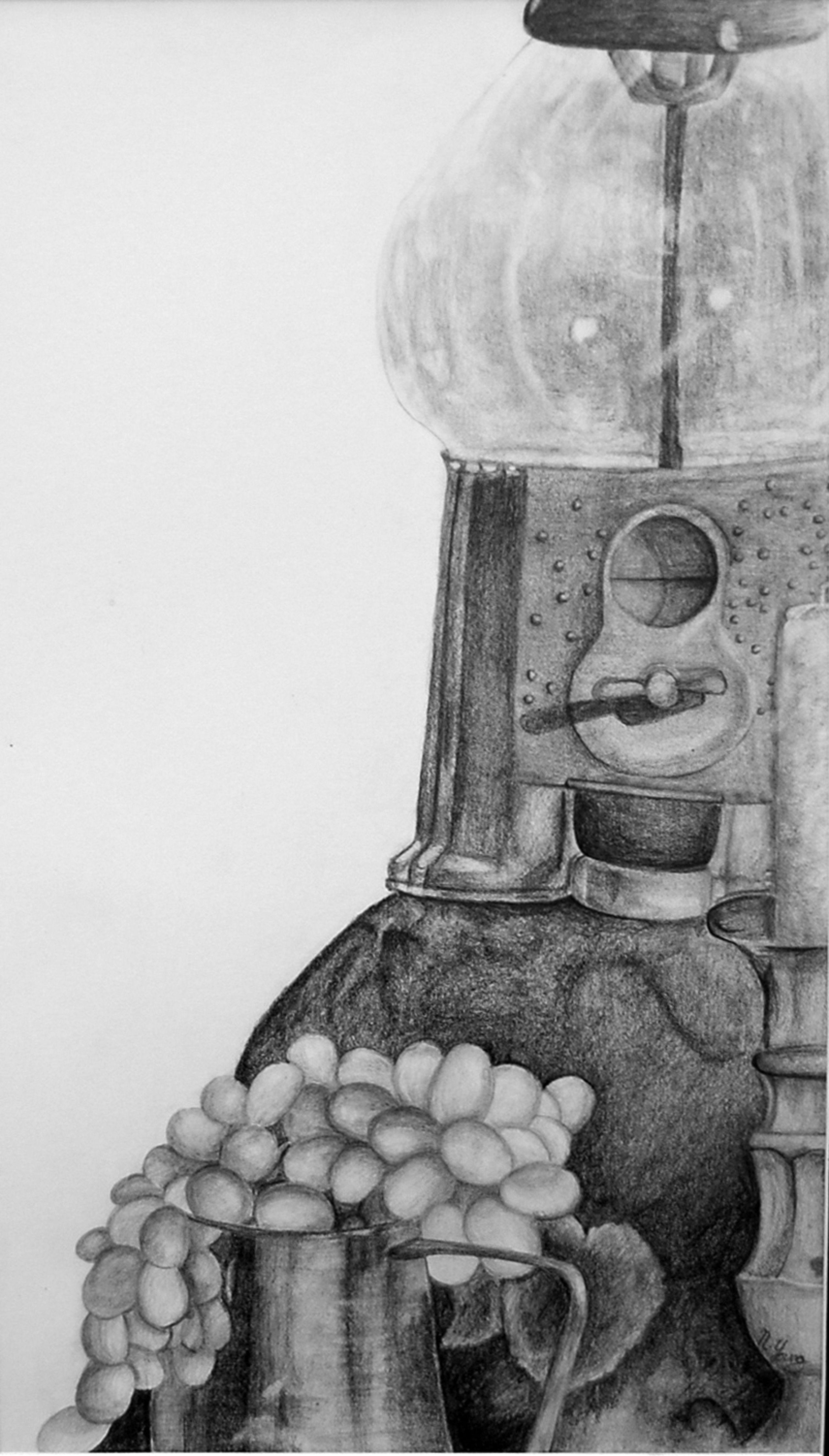 Graphite pencil still-life   Still life drawing, Life ...