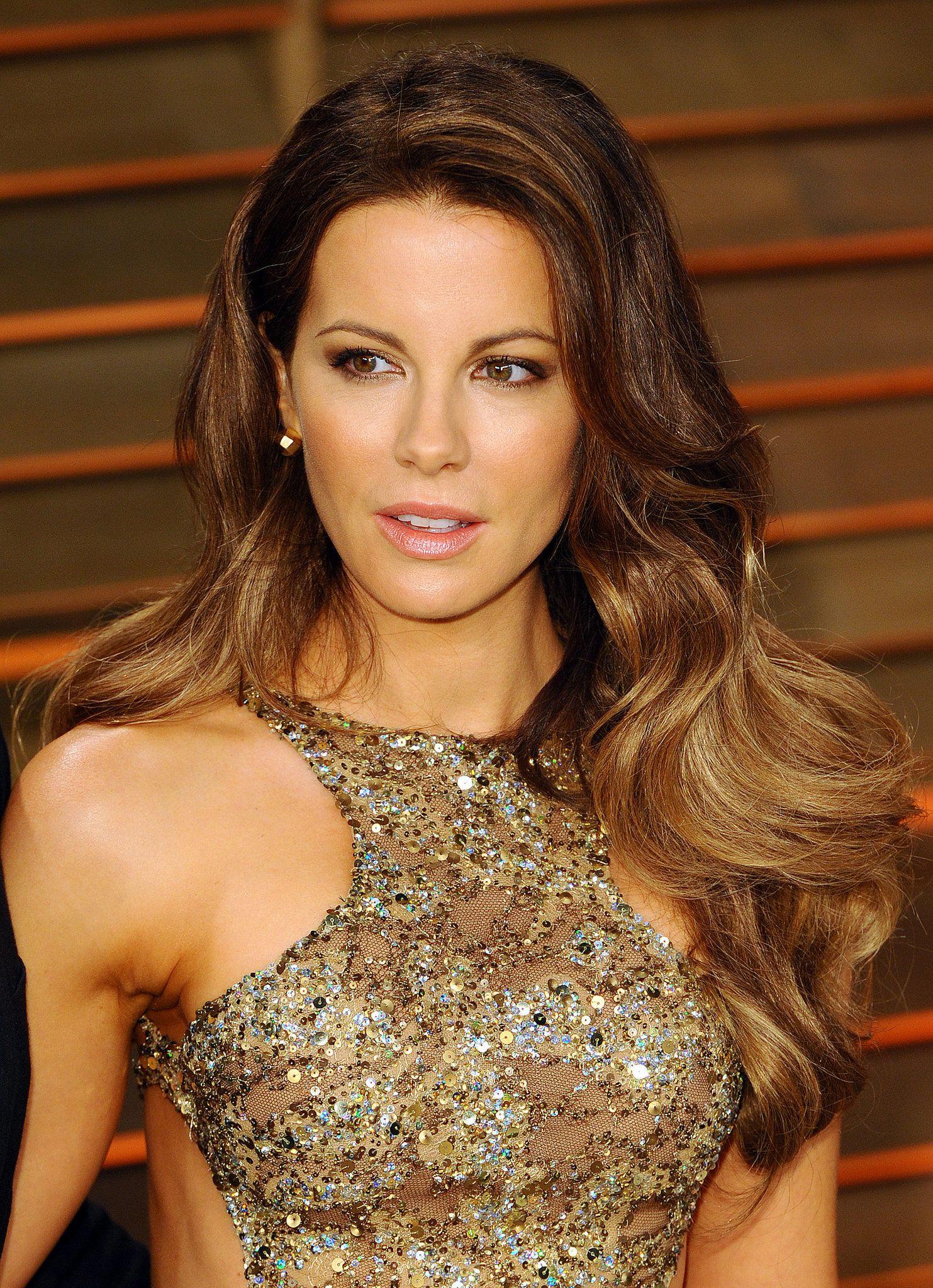 Voluminous hairstyles for long hair - Kate Beckinsale At Vanity Fair Party