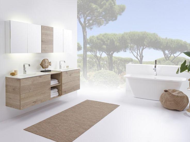 Stel zelf je badkamermeubel samen met badmeubel-serie No Limit 45 ...
