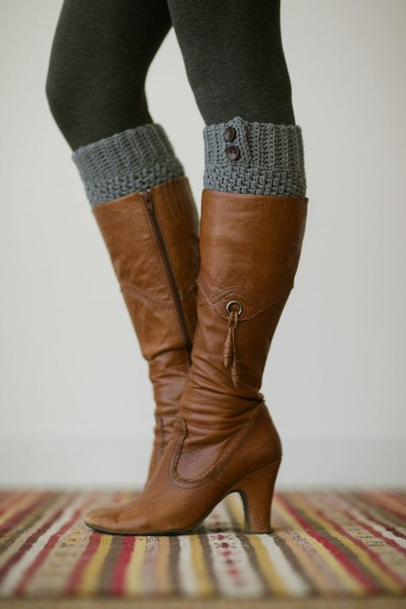 18256e824370 Knitted Boot Cuffs