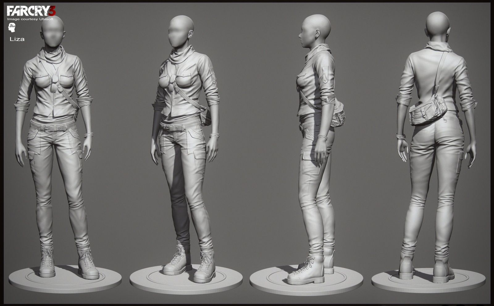 http://www.zbrushcentral.com/showthread.php?171132-Blur-Studio-Farcry-3-Cinematic-Character-Art