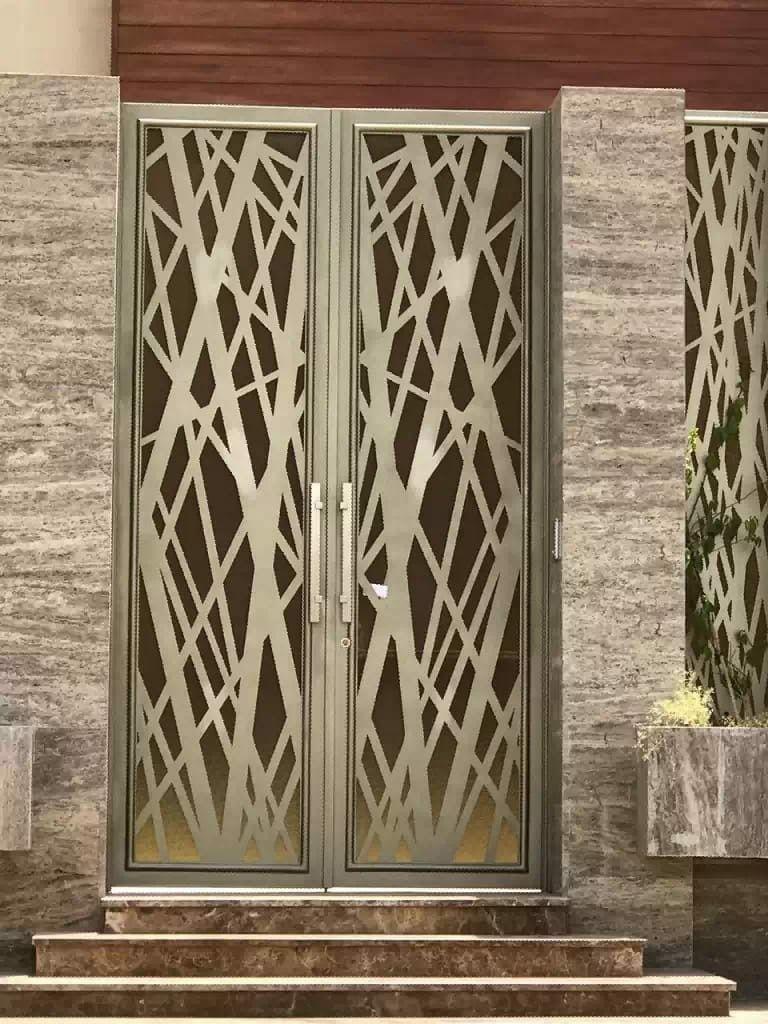 Laserdoors Metaldoors Lasercut Riyadhdoors Caddesign Arabiandoors Gate Gatedesign Door Doors Laser Nice Room Door Design Entrance Door Design Door Gate Design