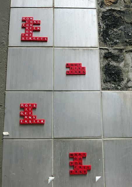Hosier Lane Scrabble | Flickr - Photo Sharing!