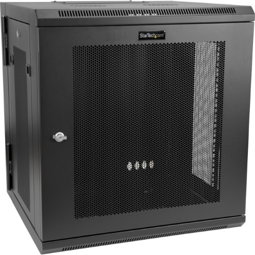 12u Wall Mount Server Rack Cabinet Up To 17 In Deep Hinged Enclosure Network Cabinet Server Rack Locker Storage