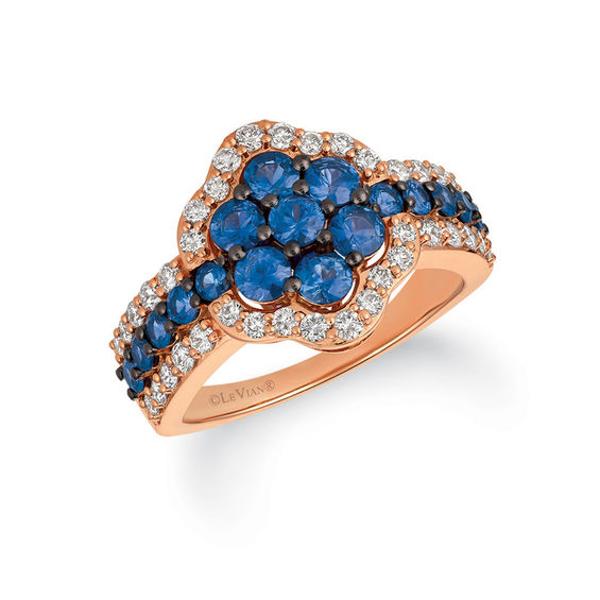 Le Vian® Blueberry Sapphire™ and Crème Brûlée Diamonds® 5