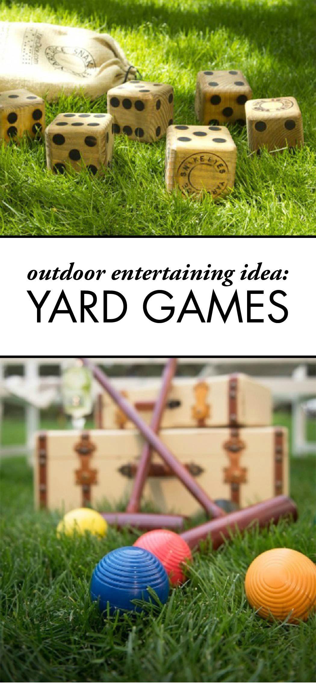 Yard Games to Play This Summer Yard games, Entertaining