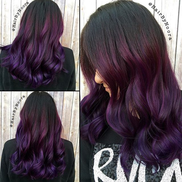 Midnight Orchid Heart My Hair Pinterest Violet Hair Pretty