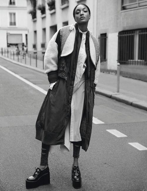 Jourdan Dunn by David Roemer for Madame Figaro August 2016