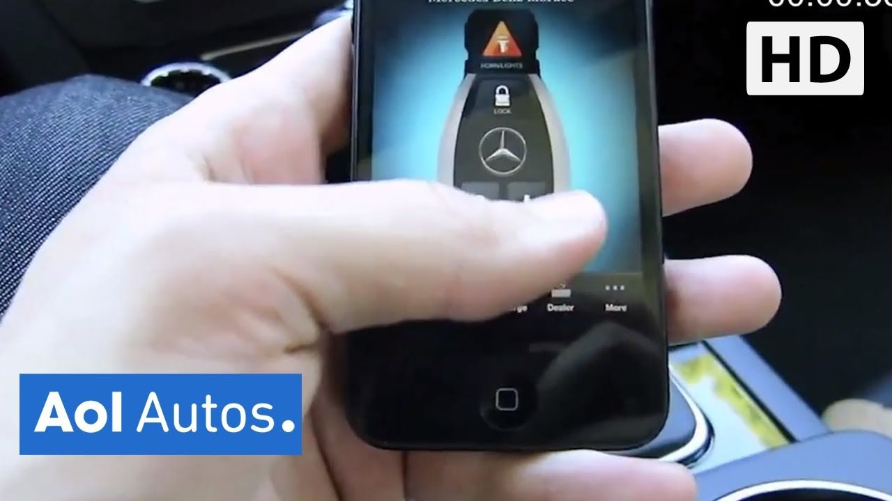 MercedesBenz MBrace2 Smartphone App Demonstration Connect