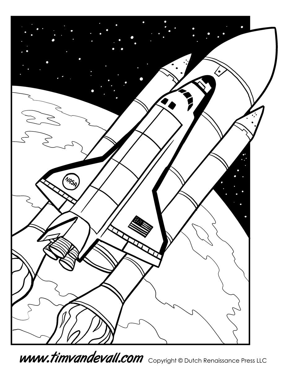 Space-Shuttle-Coloring-Page.jpg (927×1200) | Раскраски 2 | Pinterest
