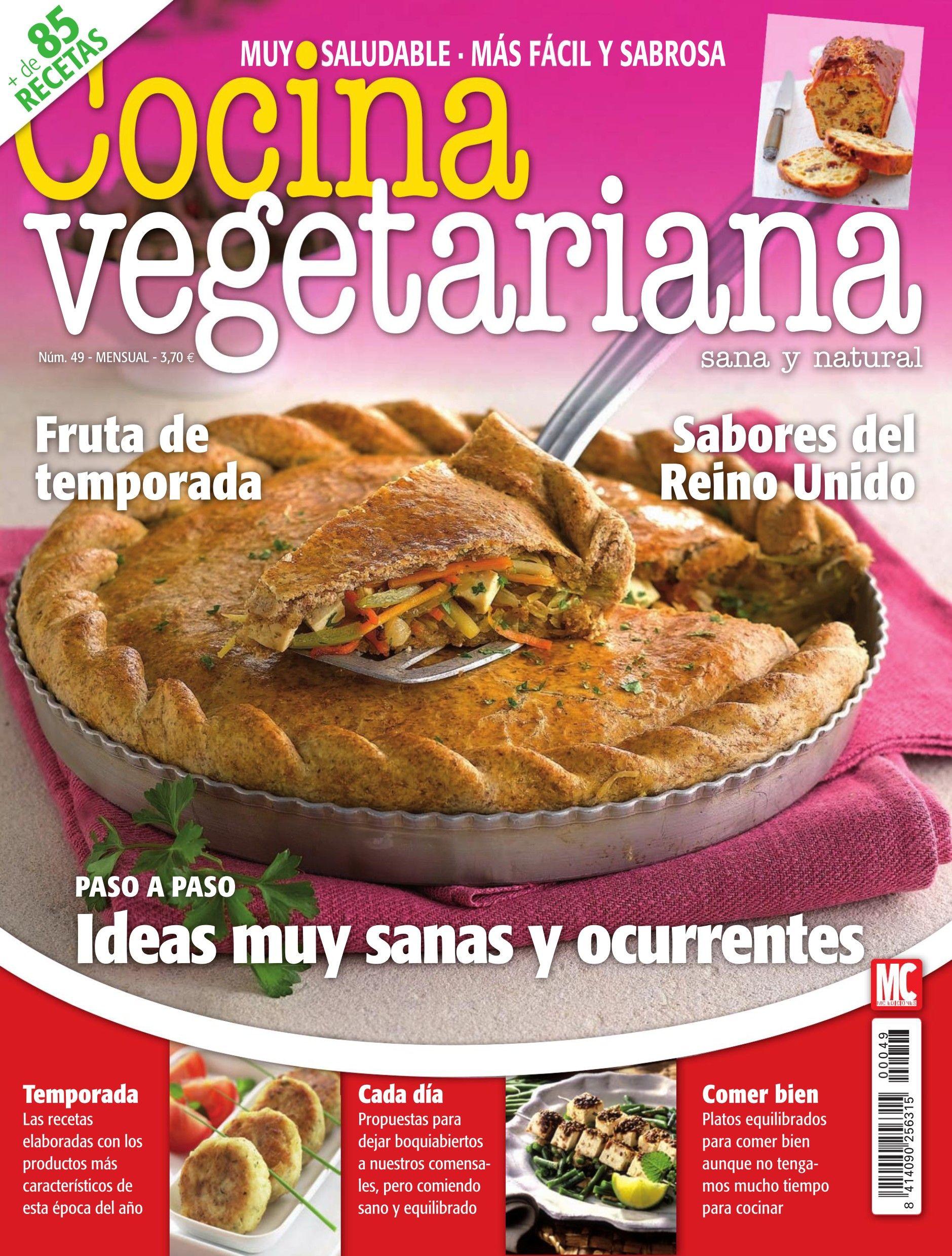 Cocina Vegetariana Revista | Revista Cocina Vegetariana 49 Frutas De Temporada Ideas Muy