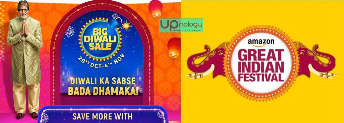 Flipkart Big Diwali Sale और Amazon Great Indian Festival
