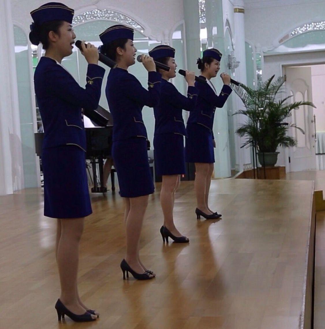 что такие стюардессы кореи фото проводится зеленым листьям