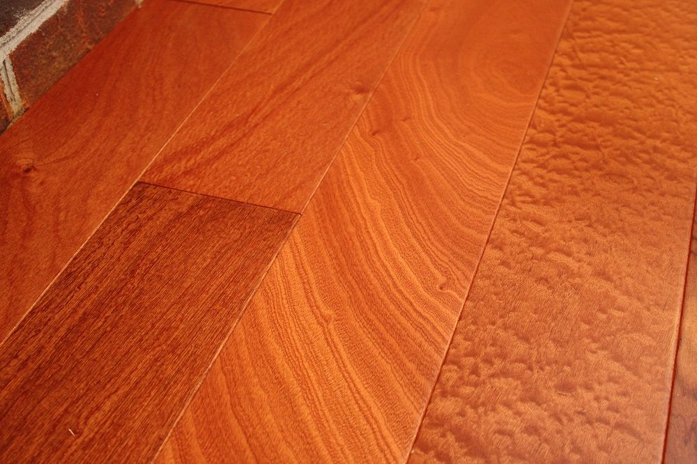 Sapele Mahogany Classic 9/16 x 5 Engineered Hardwood Flooring