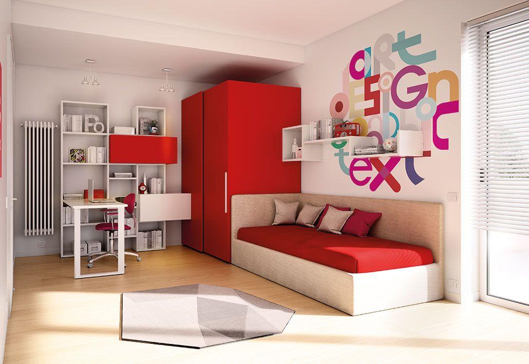 Camerette Moretti Compact Set camera da letto, Design