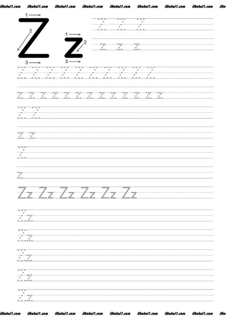 thumbnail of z   1. sınıf   Pinterest   Zahlen schreiben, Buchstaben ...