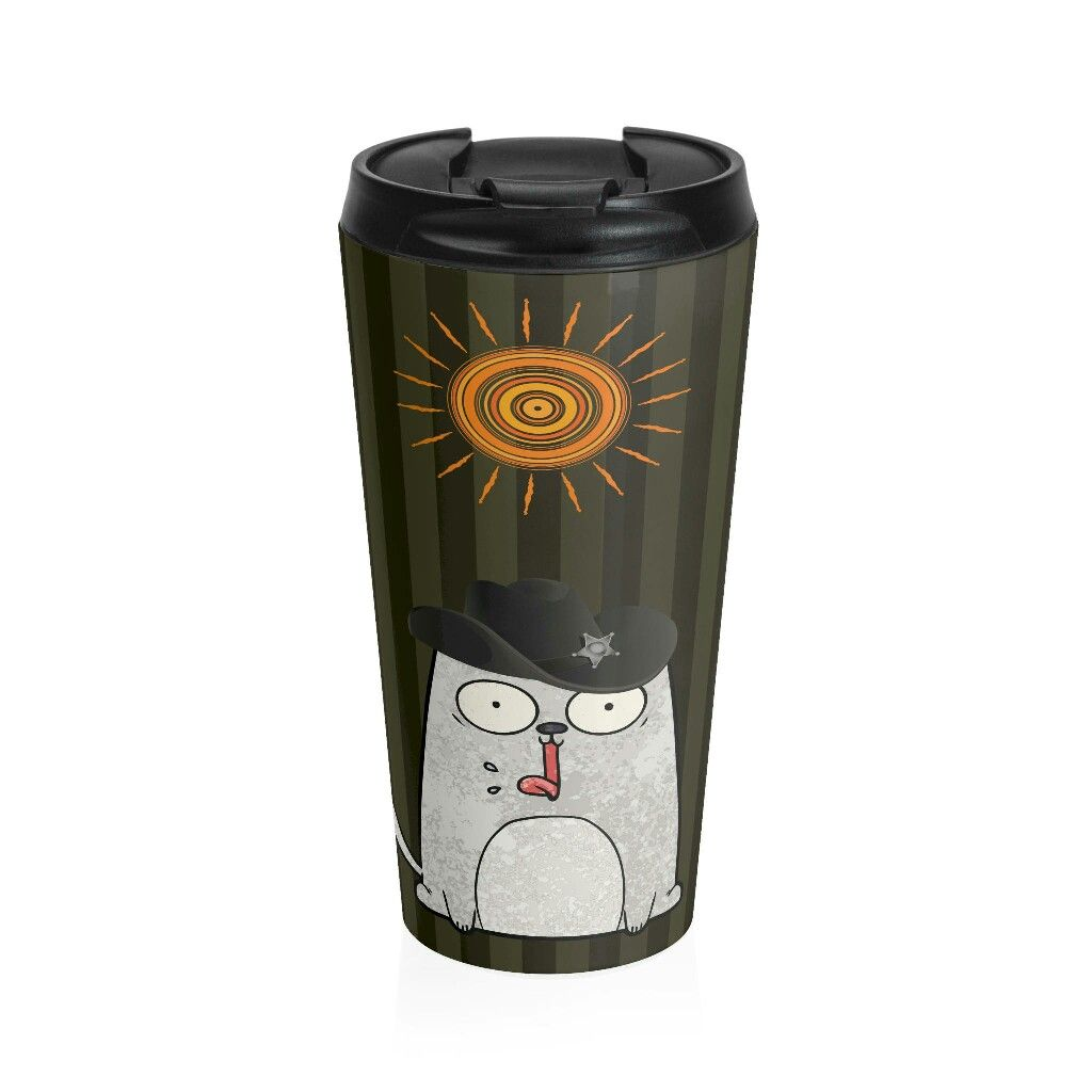Excited to share the latest addition to my #etsy shop: BLACK FRIDAY Cat Travel Mug/ Cat Lady Thermos/ Popular Tall Mugs/ Metal Cat Mug/ Cat Thermos/ Travel Mug Pet/ Cat Tumbler http://etsy.me/2z7HkZw
