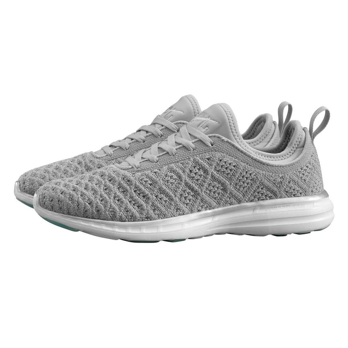 APL Women's Running Shoes TechLoom Phantom Metallic Silver/Cosmic Grey