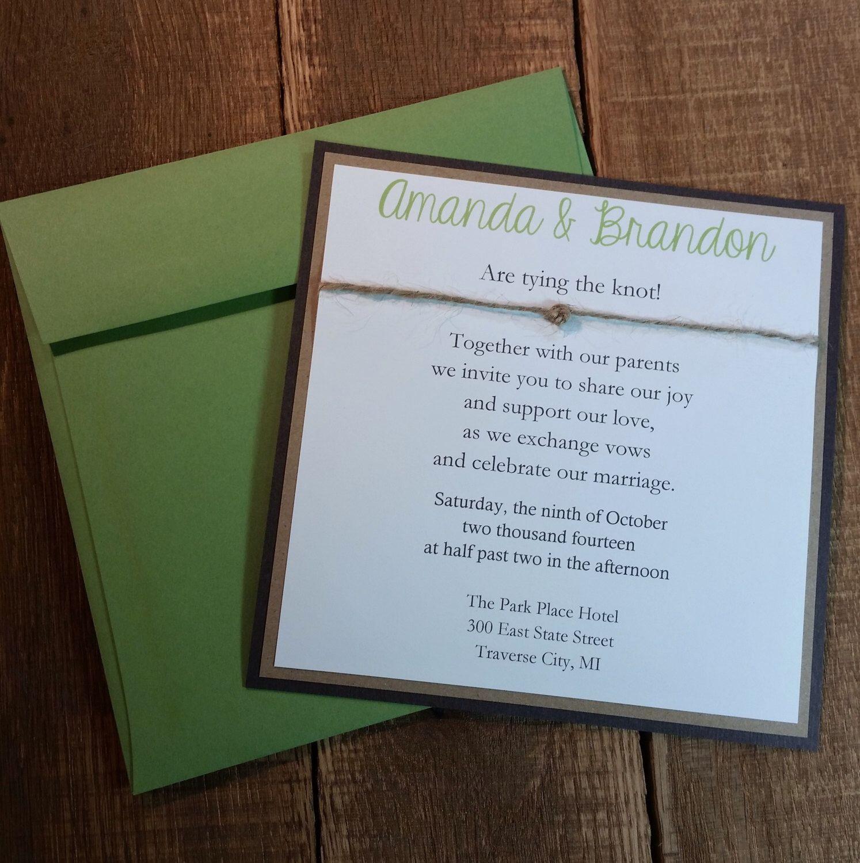 wedding invitation rsvp wording funny%0A Rustic Wedding Invitation  u     RSVP  Wooded Bliss  Sample or Full Set   x