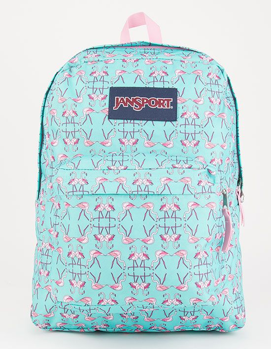 4e710b0468 JANSPORT Flamingo Dance SuperBreak Backpack