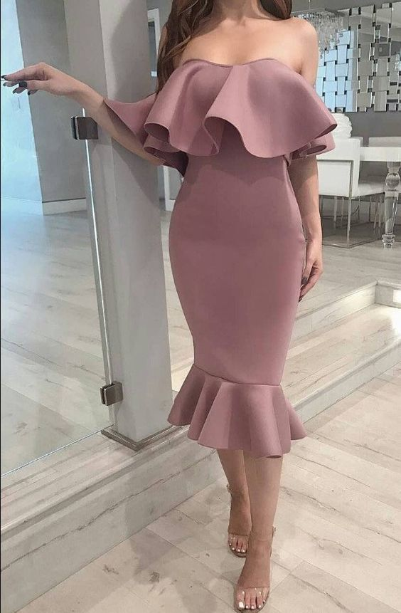 Sexy Cocktail Party Bodycon Dress ,charming dress