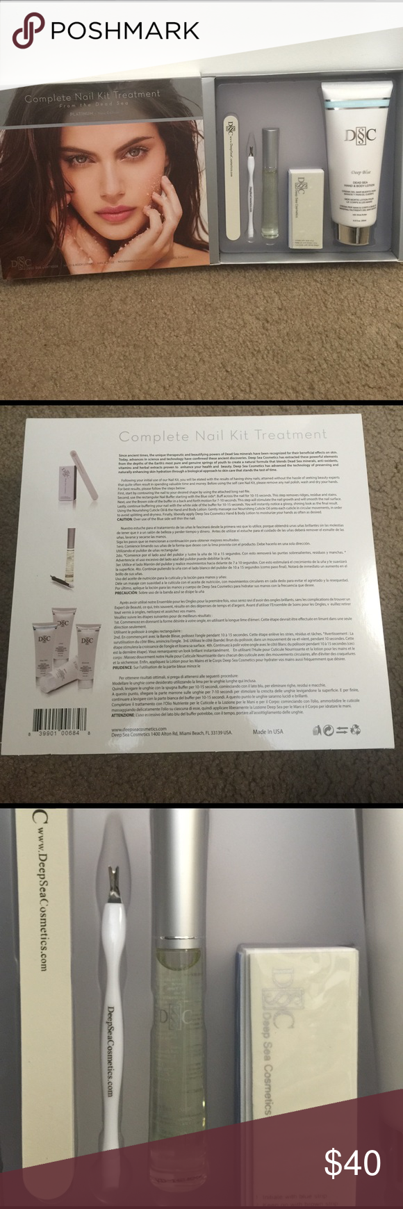 Dead Sea Nail Kit | Cosmetics, Bodies and Customer support