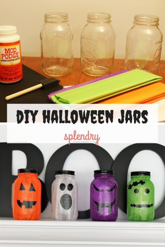 DIY Halloween Jars Diy halloween jars, Halloween jars and DIY - halloween jar ideas