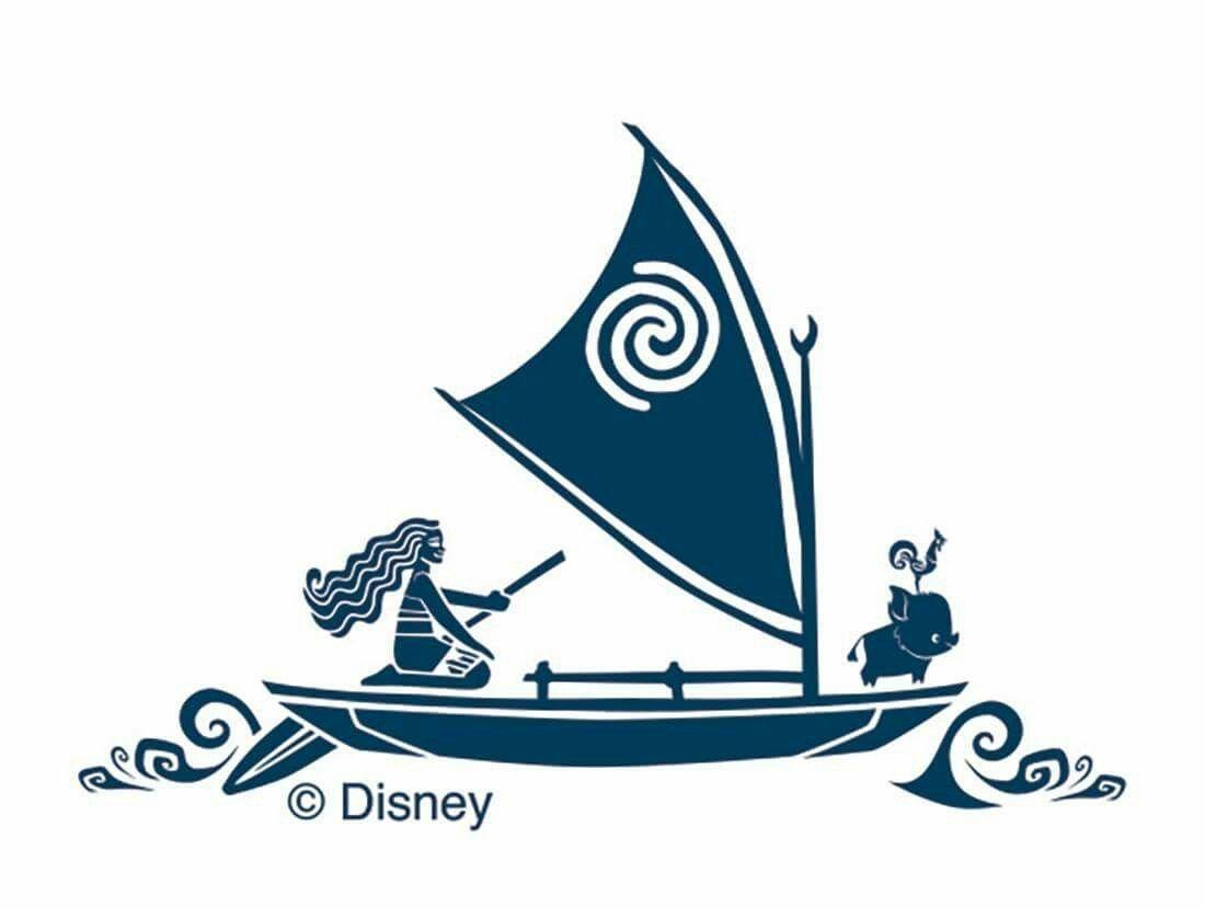 sailboat clipart moana free clipart  [ 1100 x 829 Pixel ]