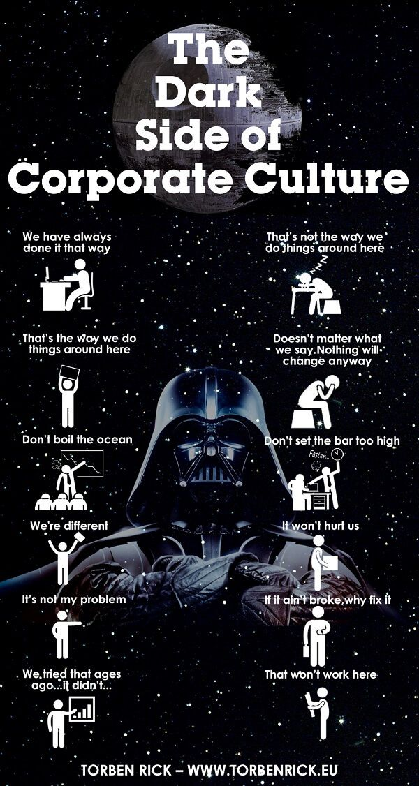 The dark side of corporate culture