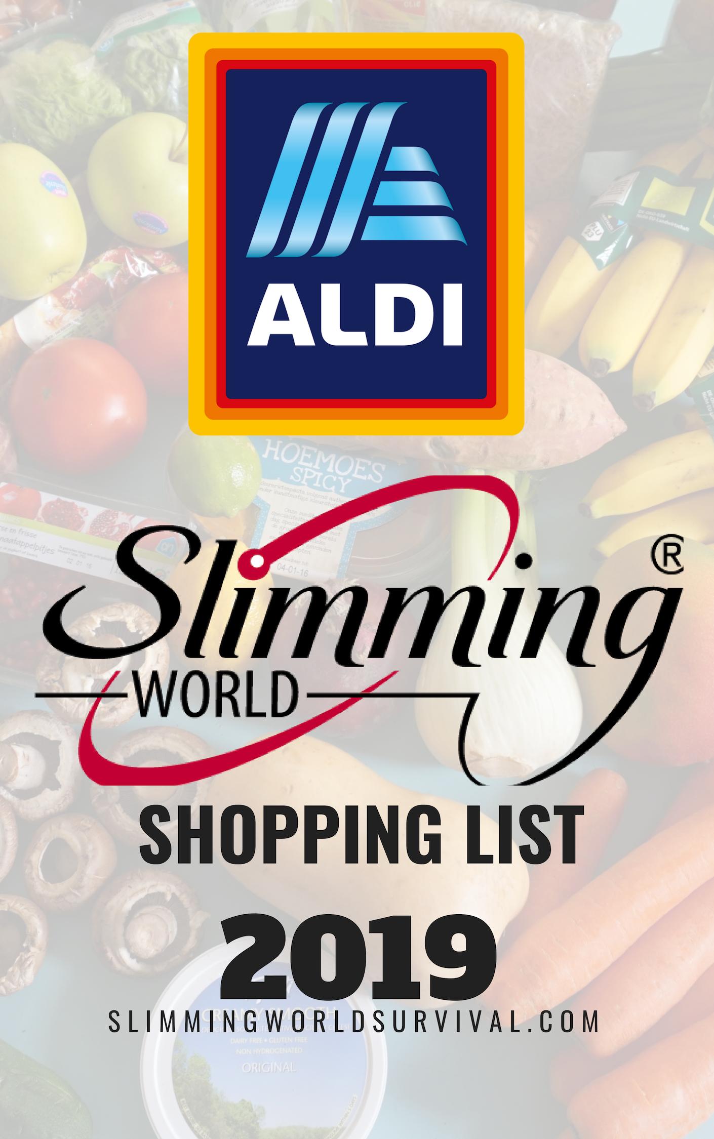 Photo of Aldi Slimming World Einkaufsliste 2019