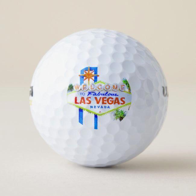 Las Vegas Golfing Golf Balls