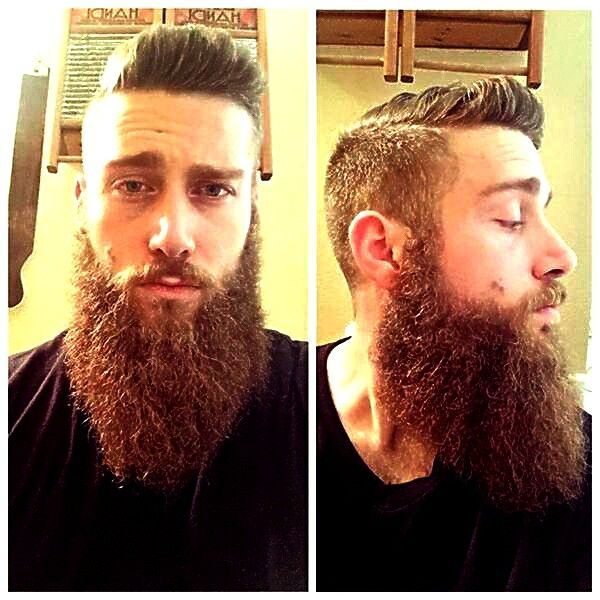 Light Colored Hair Styles Really Cool Beard For Men Never Go Out Of Style Brown