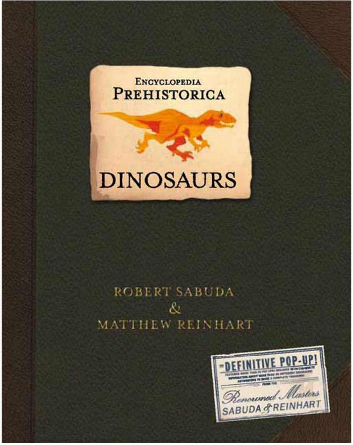 Penguin Random House Encyclopedia Prehistorica Dinosaurs Pop Up