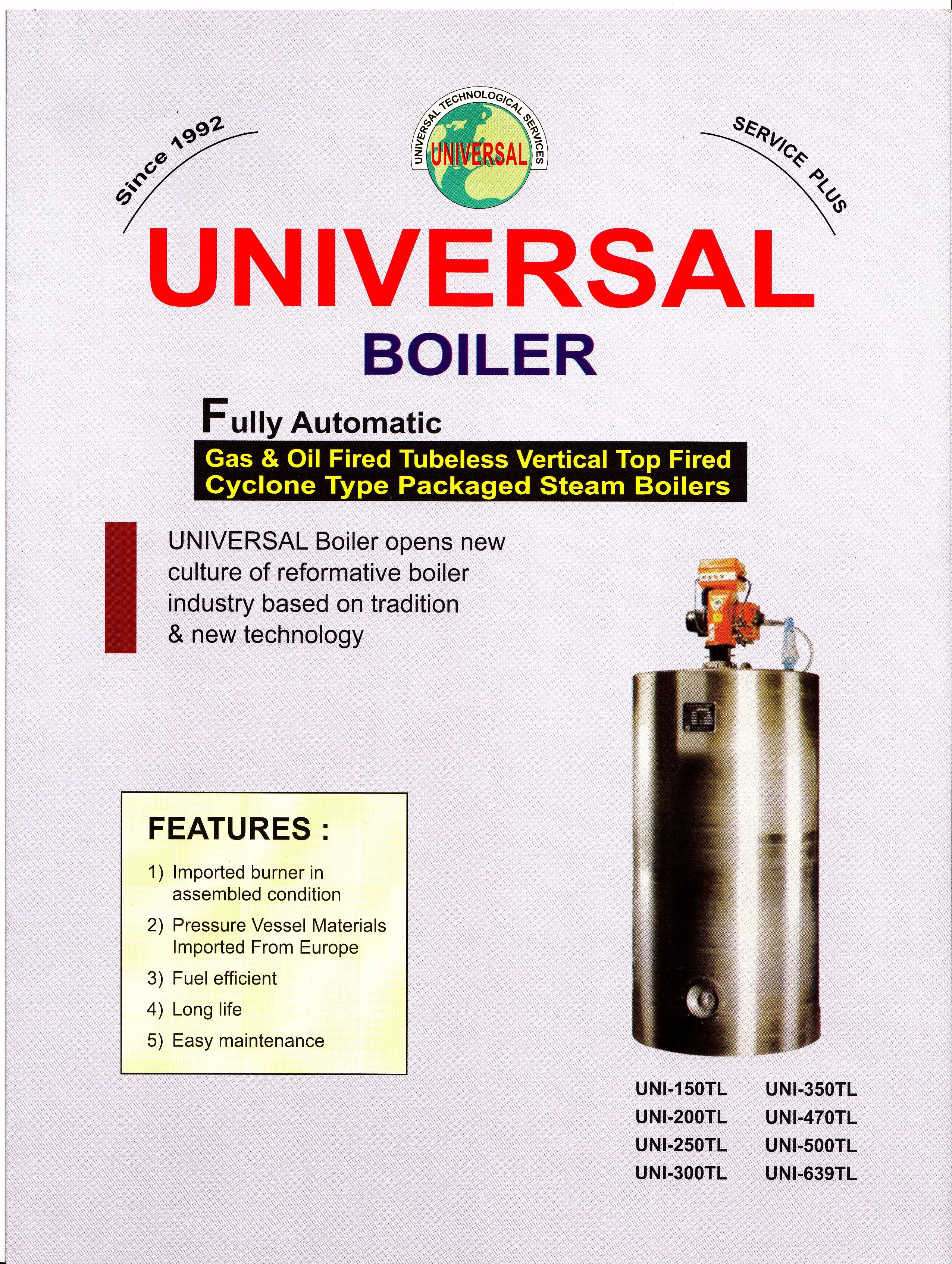 We locally Assemble and Manufacture These Boilers and is a major ...