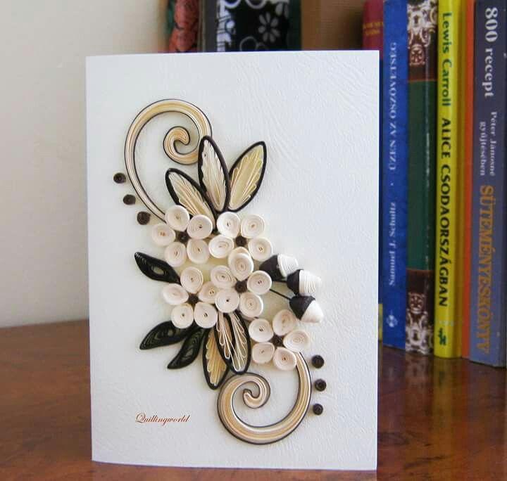 Cartão de quilling