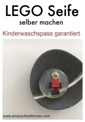 Legoseife selbstgemacht: Kinderwaschspaß garantiert - ★ Mamablog: Einer schreit immer