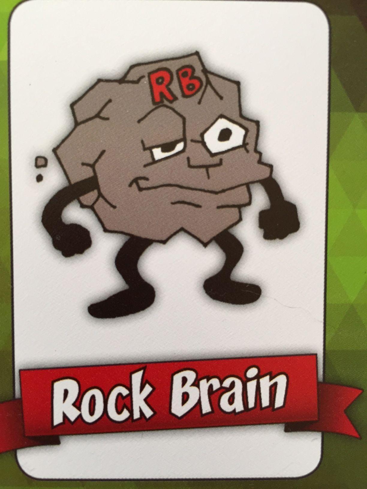Rock Brain I Make People Get Stuck On Their Ideas