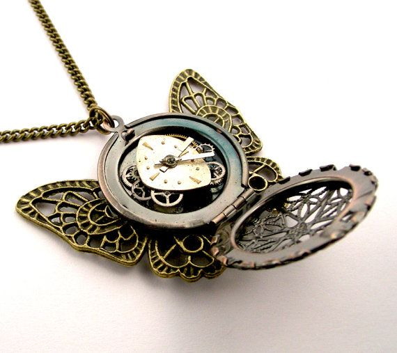 necklace personalized etsy locket turquoise picture blue butterfly market il customized photo lockets verdigris