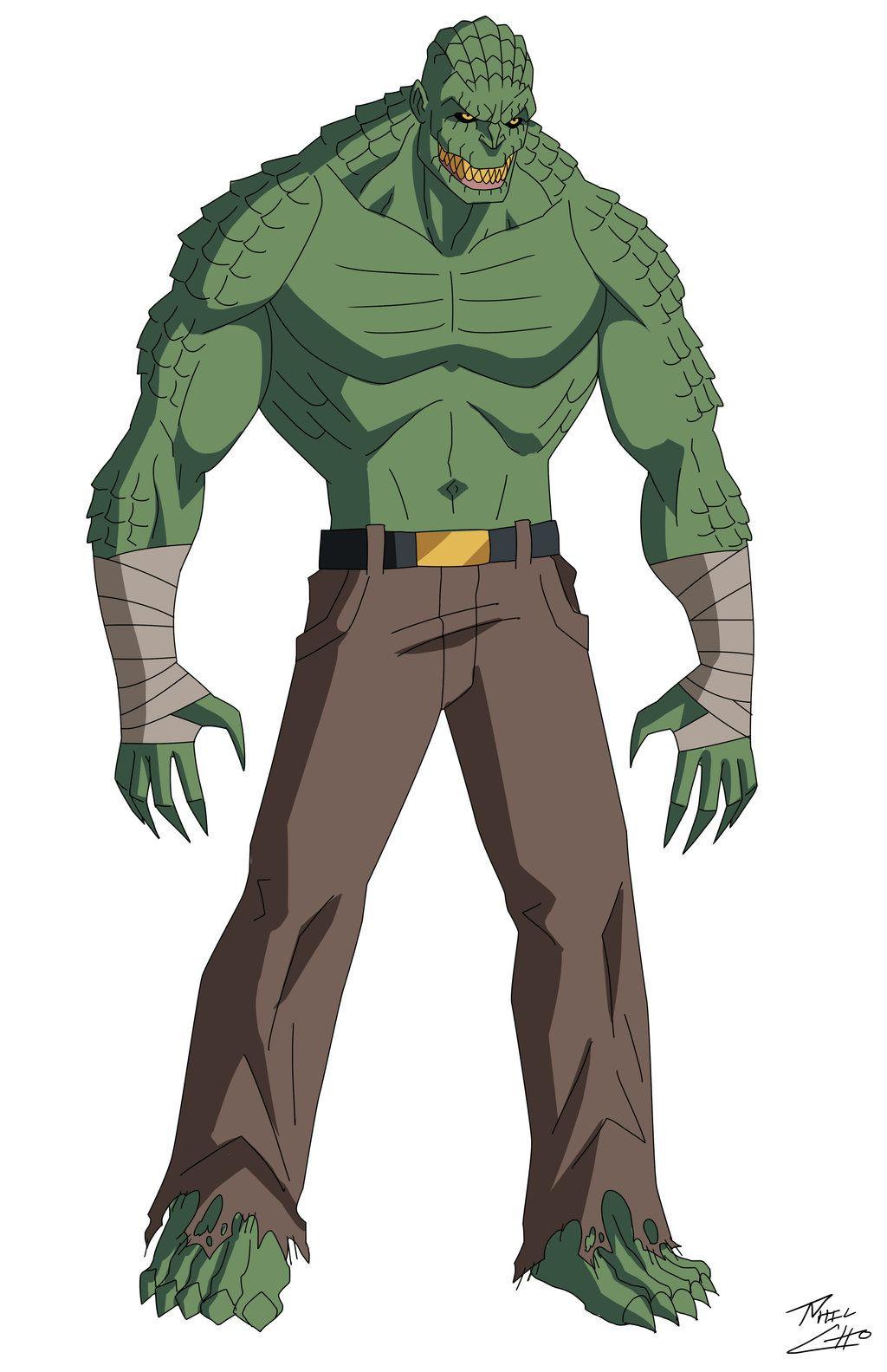 Dick crocodile animated character
