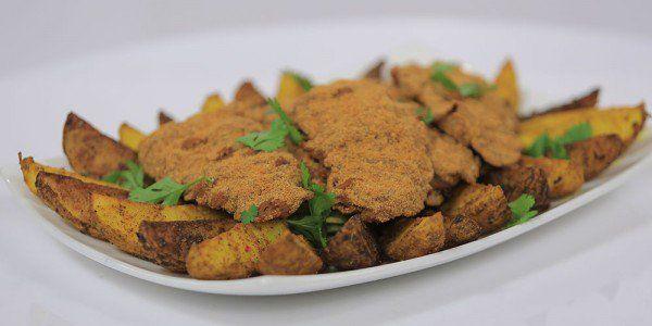 Cbc Sofra طريقة عمل إسكالوب بانيه فرن سالي فؤاد Recipe Chicken Recipes Recipes Food